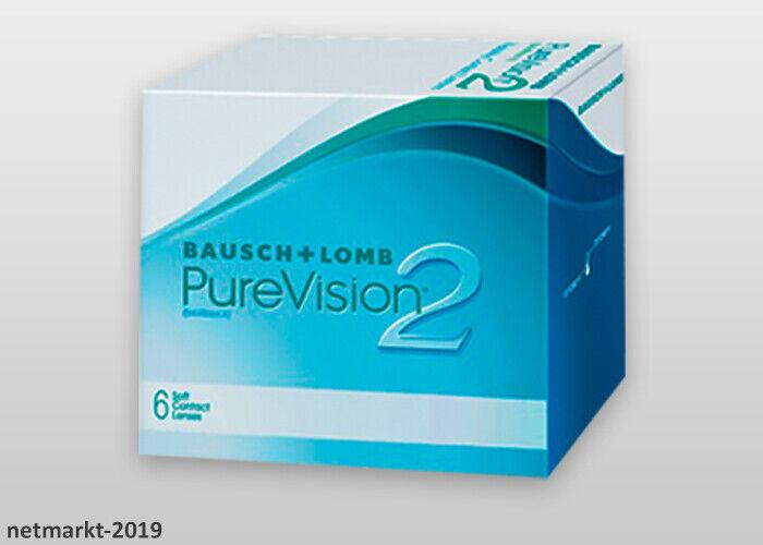 Bausch&Lomb Kontaktlinsen PureVision 2HD 1x6 Stück Monatslinsen Night&Day