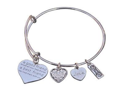Best Friends Bracelet - Not Sisters By Blood But Sisters By Heart