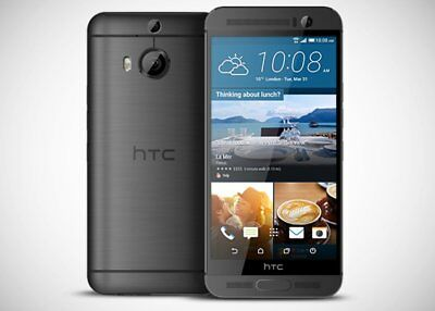 HTC One M9+ (Plus) - 32GB - 20MP - LTE - Gunmetal Gray (Unlocked) Smartphone