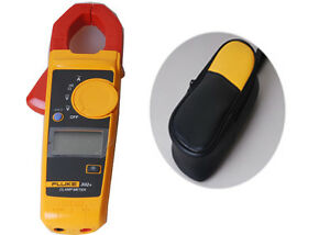 Fluke 302+ Digital Clamp Meter AC/DC Multimeter Tester+ Soft Case Bag Holster