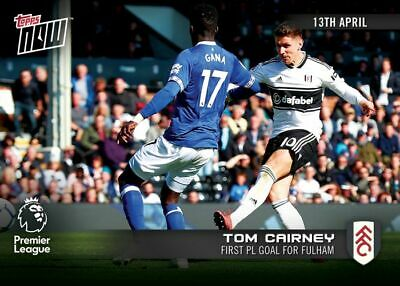 2018-19 Topps NOW Premier League 119 Tom Cairney Fulham [13.4.19]