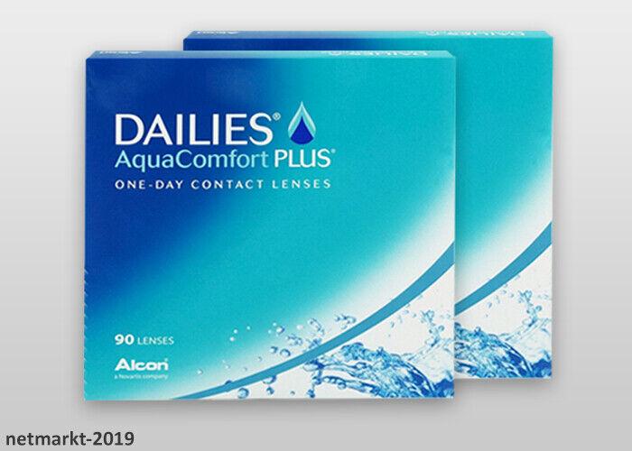 Alcon Tageslinsen Dailies Aqua Comfort Plus 2x90 Stück Kontaktlinsen - Neu&OVP