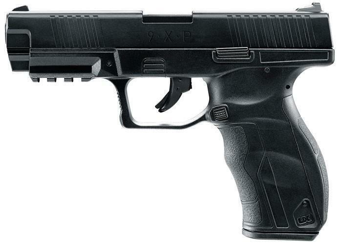 Refurbished Umarex 9XP 4.5MM CO2 BB Gun, Metal Blowback, Black