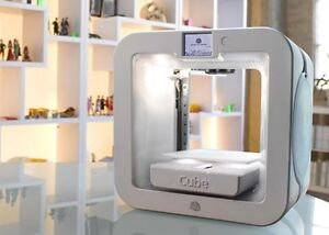 Brand new cube 3d printer factory sealed retail $1200.00 us