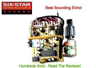 T3 ECHO BOARD CB HAM BIG ROOM REPEAT BEST SOUNDING PROFESSIONAL ECHO IC  2