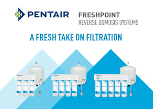 Pentair 5 stage reverse osmosis system