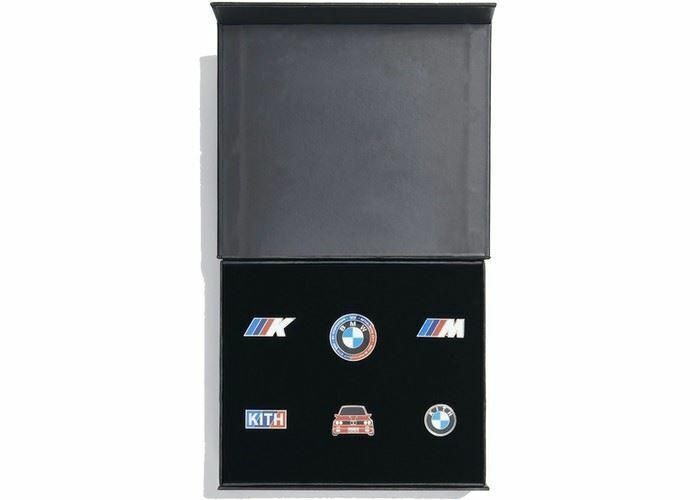Kith x BMW Pin Set (Multi)