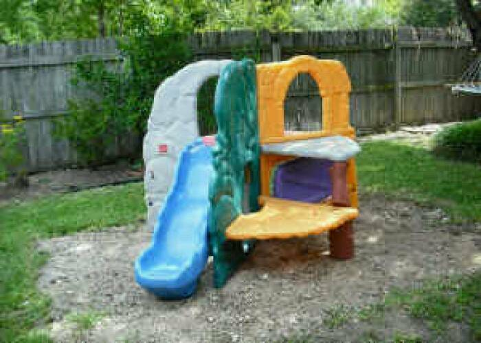 Little tikes jungle climber in didcot oxfordshire gumtree for Little tikes outdoor playset