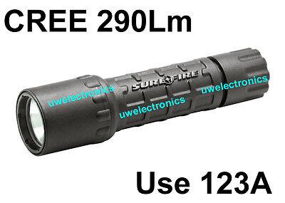 Surefire G2 Nitrolon Single Output Extremely WHITE CREE LED 16340 Flashlight 6P