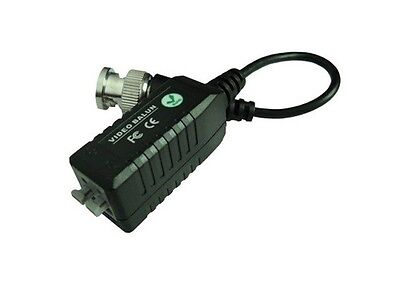 New 12 x Coax CAT5 Camera BNC Video Balun with Cable Transceiver US Seller