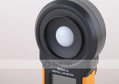 HYELEC MS6612 Luxmeter Digital Lichtmesser Belichtungsmesser Messgerät Lux Meter