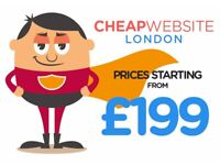 Looking for a cheap website design service? £199 Starting prices