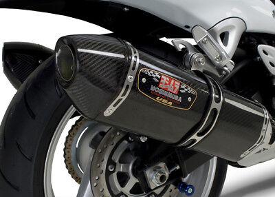 (Yoshimura R-77 Dual Carbon Fiber Slip-On Exhaust Suzuki Hayabusa 08-11 _1121202)