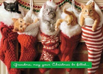 Avanti Grandma Funny Christmas Greeting Card Humour Cards - Funny Grandma Cards