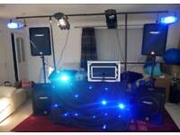 (30% OFF) BE YOUR OWN DJ - DJ / PA / Sound System with Microphone, Lighting and Smoke Machine