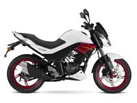 *Brand New* 66 Plate Sinnis RS 125.66 Plate Warranty Free Delivery Main dealer 12-10