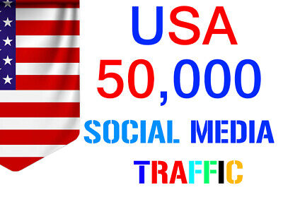 Unlimited Organic Keyword Target Web Site Traffic From Usa Social Media