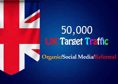 Unlimited Organic Keyword Target Web Site Traffic From Uk Social Media For 8
