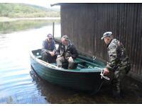 HIGHLANDER BOATS CLUB 12 FISHING DINGHY