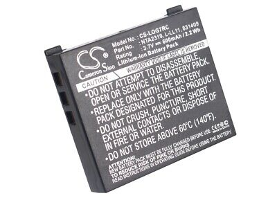 Replacement Battery for Logitech L-LL11 3.7v 600mAh Wireless Mouse Battery