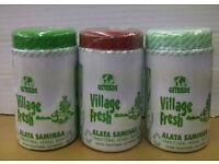 Village Fresh Traditional Herbal Black Soap - Lemon Fresh / Avocado / Aloe Vera