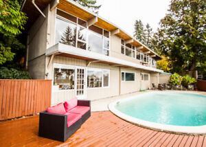 $3960(ORCA_REF#2750R)***VIEWS!!! Dundarave w/pool house!***