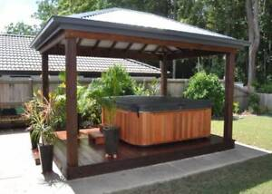 Bali Huts, Gazebos and Timber Decks DIY Sale on NOW!