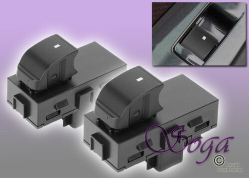PAIR FRONT PASSENGER REAR LEFT RIGHT POWER WINDOW SWITCH FOR CHEVY GMC 22864837