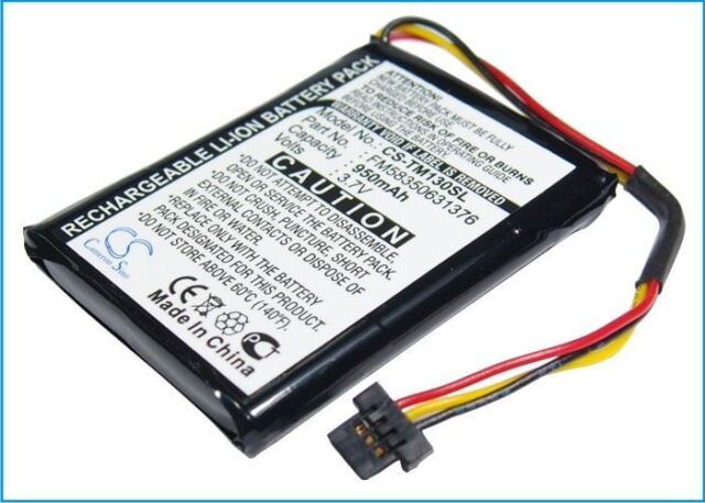 Battery suitable for TomTom One 125, One 130, One 130S
