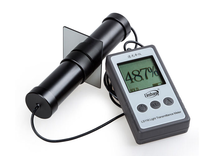 New LS116 Light Transmittance Meter Tester; Transmission Meter 380nm-760nm