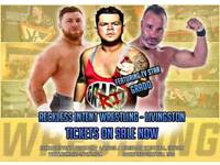 Live Family Friendly Wrestling in Livingston featuring TV Star Grado