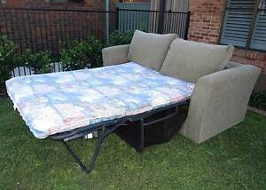 sofa bed (2x) seater plus (2x) seater sofa Belmont Lake Macquarie Area Preview