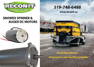 Snoex spinner and Auger Motor - New