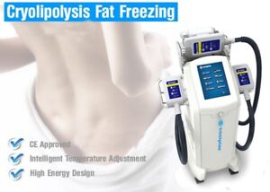 Coolplas Cryolipolusis fat freezing brand new spa equipments