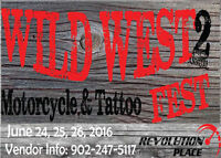 WILD WEST 2ND ANNUAL MOTORCYCLE & TATOO FEST