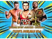 Live Wrestling in Livingston featuring TV Star Grado