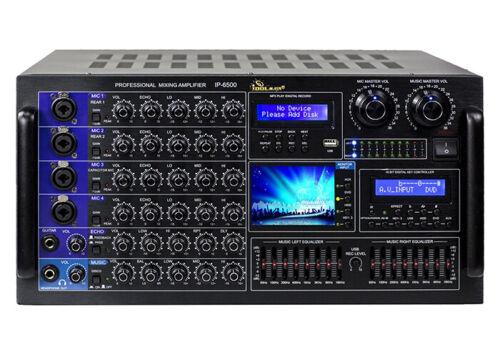 IDOLMAIN IP-6500 6000W Karaoke Mixing Amplifier - BRAND NEW MODEL 2020