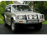 mitsubishi pajero lwb 2.5td auto spares or repair