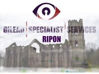 Professional and Discreet Covert Surveillance and Private Investigations in and around Ripon