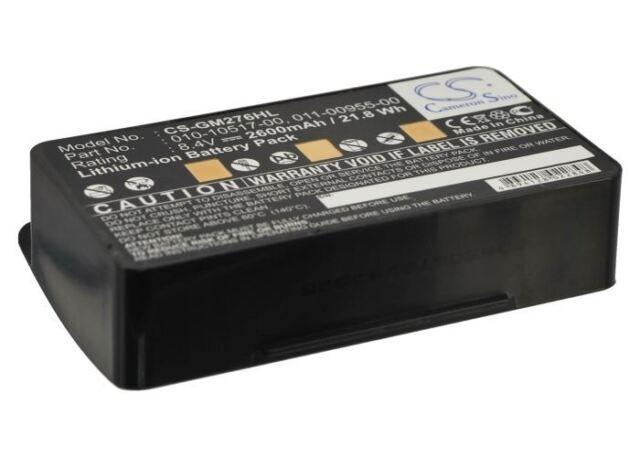 Battery for Garmin GPSMAP 296 Extended 2600 mAh Li-ion