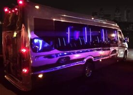 Party Boogie Limo Bus, Hummer Limos and Baby Bentley Limos for hire