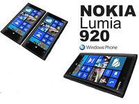 32GB Nokia Lumia 920 Mobile Phone - Black - Unlocked