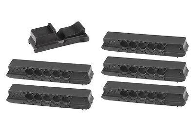 Pellet Magazines for Avanti 853C Rifle & Daisy 953, Five 5-Shot Clips + Insert