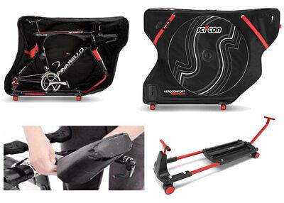 Scicon Aerocomfort 3.0 Triatlón Tsa Bicicleta Viaje Funda Para Airplane Viajes-