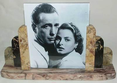 █► Art Deco Marmor Fotorahmen 1930er Jahre Original!