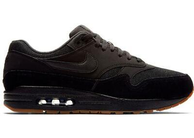 Nike Air Max 1 Black/Gum Men's Sneakers (Max 1 Glue)