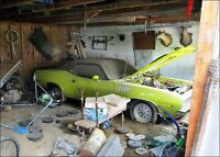 WANTED MUSCLE CAR PROJECT CAMARO CUDA