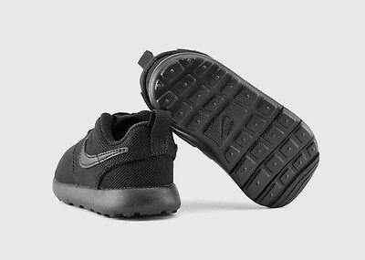 NIKE ROSHE ONE (TD) TODDLER KIDS SHOE BLACK/BLACK-BLACK