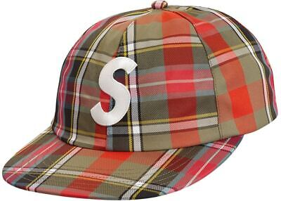 03ac7826 Supreme GORE-TEX 6-Panel Hat Cap Plaid SS19 IN HAND Formula Bonded Shatter