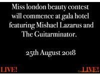 Miss london finals.